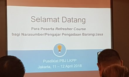 Refresher Course Narsum LKPP