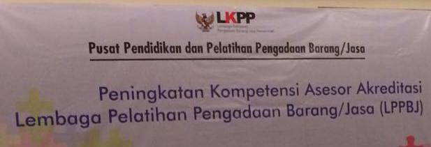 Pelatihan Assesor di Pusdiklat LKPP