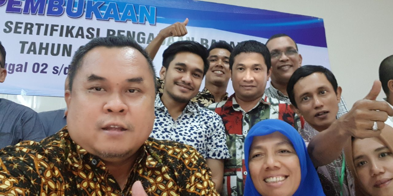 Pelatihan Dasar perpres 16 tahun 2018 di BPSDM Aceh