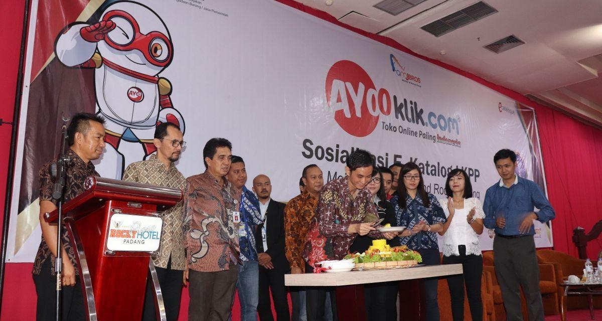 Ayooklik Sosialisasikan Sistem e-Katalog LKPP di Sumatera Barat