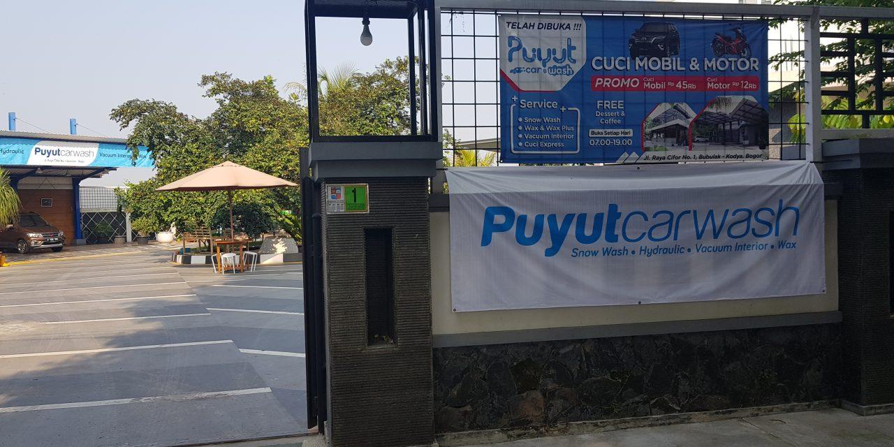 Puyut carwash Cifor Bogor