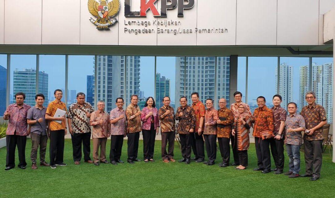 Audiensi Kepala LKPP dengan Gakeslab