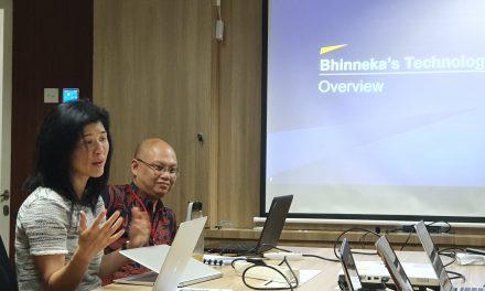 Dokumentasi Audiensi dengan Bhinneka