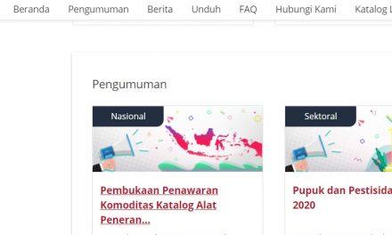 Pembukaan Pemilihan Penyedia Katalog Elektronik LKPP